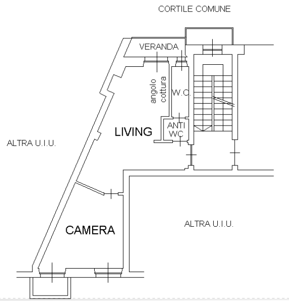 Planimetria Via Asinari di Bernezzo 5